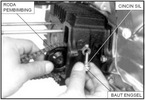 copot cam chain guide