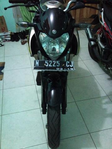 modif headlamp dan plat nomor