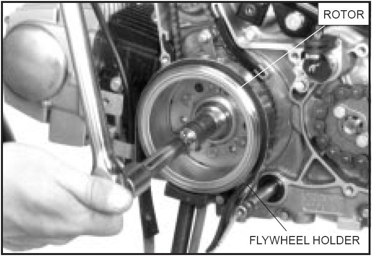 DIY Membongkar Gearbox Honda Grand Bagian Kiri Magnet