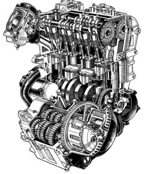 0 mesin motor