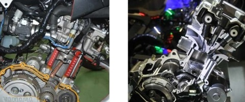 engine NVL vs engine CB150R