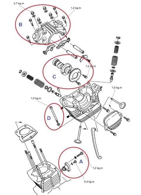 [DIY] Bongkar Mesin MegaPro, Bongkar Head dan Silinder