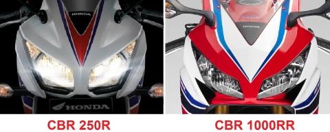 cbr250 headlamp
