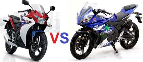 R15 vs CBR150Fi