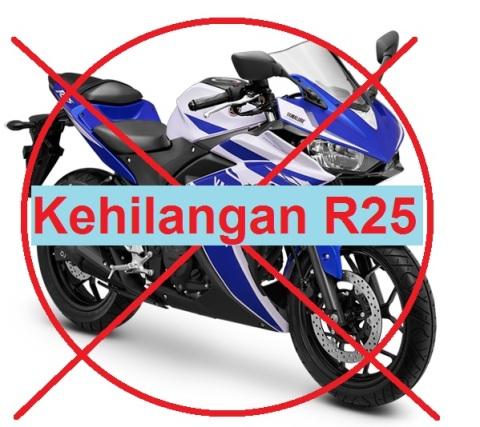 r25 rawan dicolong