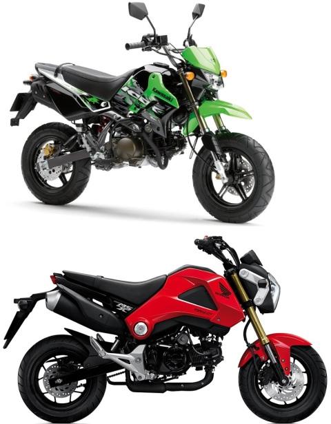 ksr110 and msx125