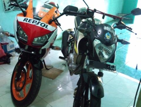 NVL n CBR150 front