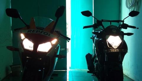 NVL n CBR150 sinar headlamp