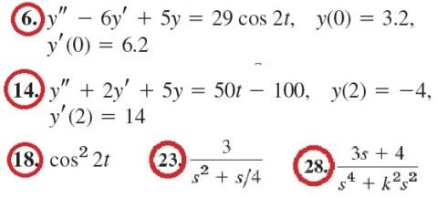07 problems chosen