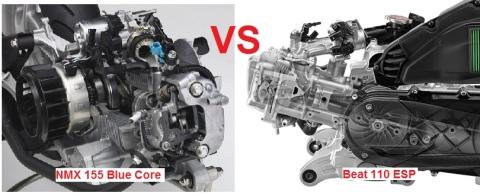 mesin beat vs nmax