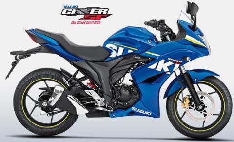 Suzuki Gixxer SF155 MotoGP Blue