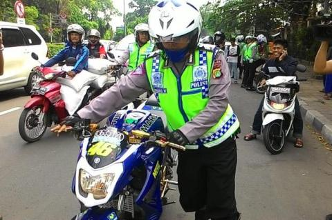 nvl modif dikandangin polisi