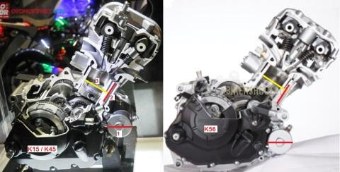 engine k15 vs k56