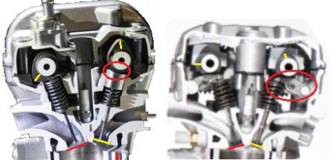 head cyl k15 vs k56 tegak