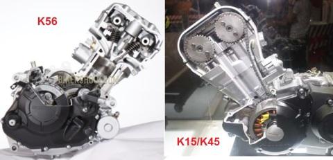 mesin k56 dan k15