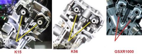 valve k15 k56 gsxr1000 angle