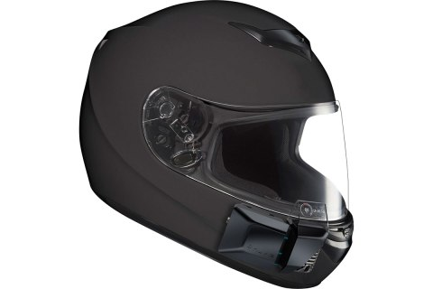 Nuviz HUD On Motorcycle Helmet