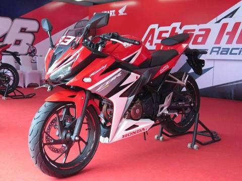 new cbr150r red