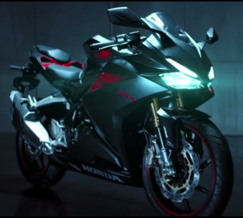 cbr250rr right front