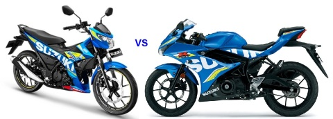 satria-fi-vs-gsxr150